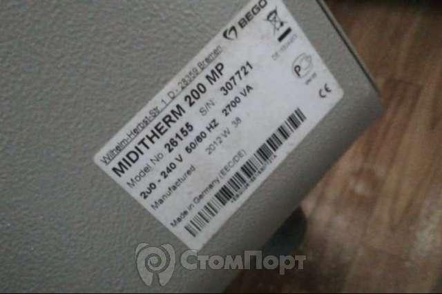 Продаётся муфельная печь Miditherm 200 MP, BEGO, Германия