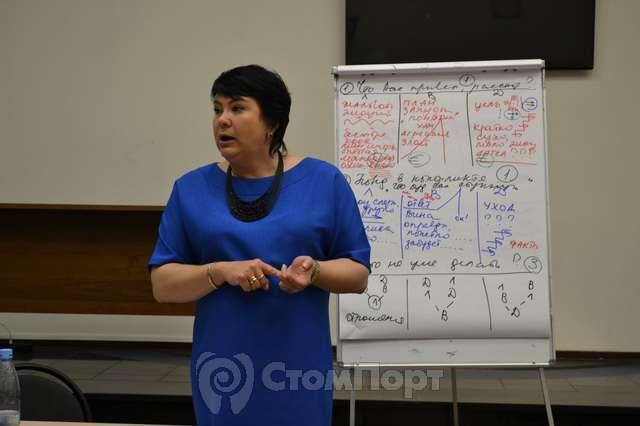 Лектор Мусинова Наталия в УЦ СтомПорт