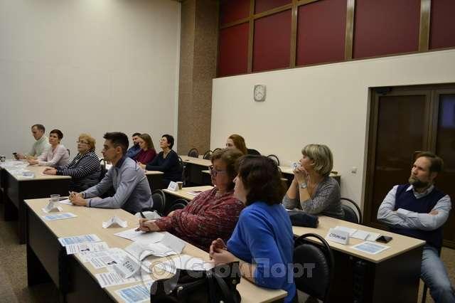 Учащиеся на семинаре Некрасова Е.В.