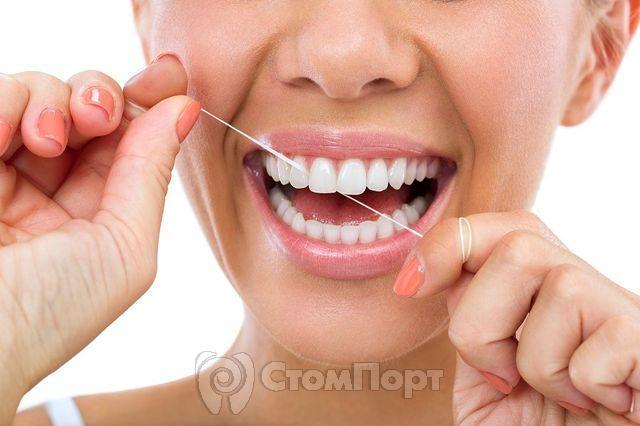 Эффективность зубной нити
