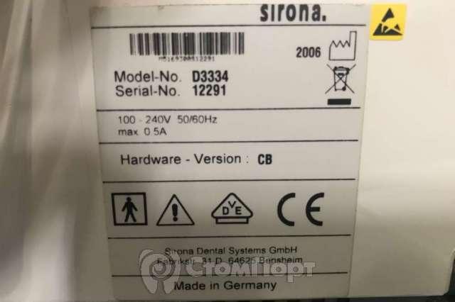 Продается визиограф Sirona 3334 бу