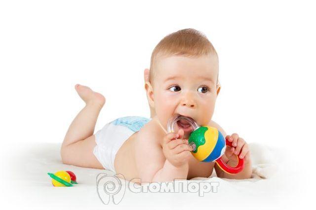 Прорезывание зубов у ребёнка